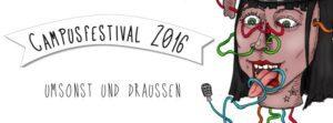 CAMPUSFESTIVAL 2016 - Festival contre le racisme @ Audimax Vorplatz | Kiel | Schleswig-Holstein | Deutschland