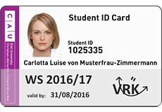 Informationen zur CAU Card
