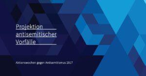 Projektion antisemitischer Vorfälle @ Audimax, Christian-Albrechts-Universität | Kiel | Schleswig-Holstein | Deutschland