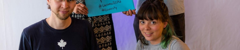 """Ausstellungseröffnung """"Vielfalt ist unsere Stärke"""" des AStA der CAU"""