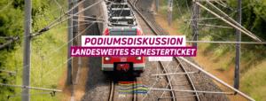 Podiumsdiskussion Landesweites Semesterticket @ Audimax | Kiel | Schleswig-Holstein | Deutschland