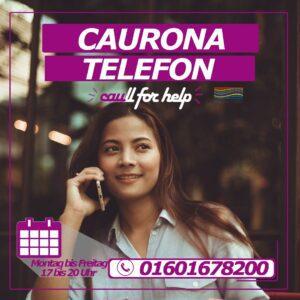 CAURONA TELEFON – caull for help!