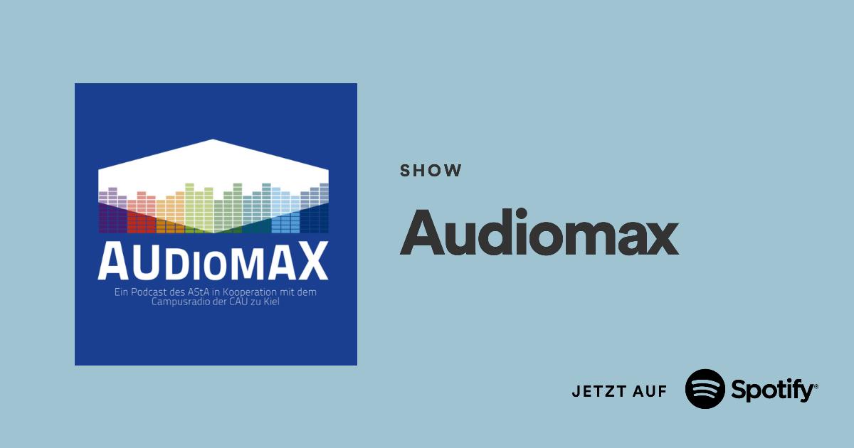 Hier klicken, um dem Audiomax Podcast auf Spotify zu folgen