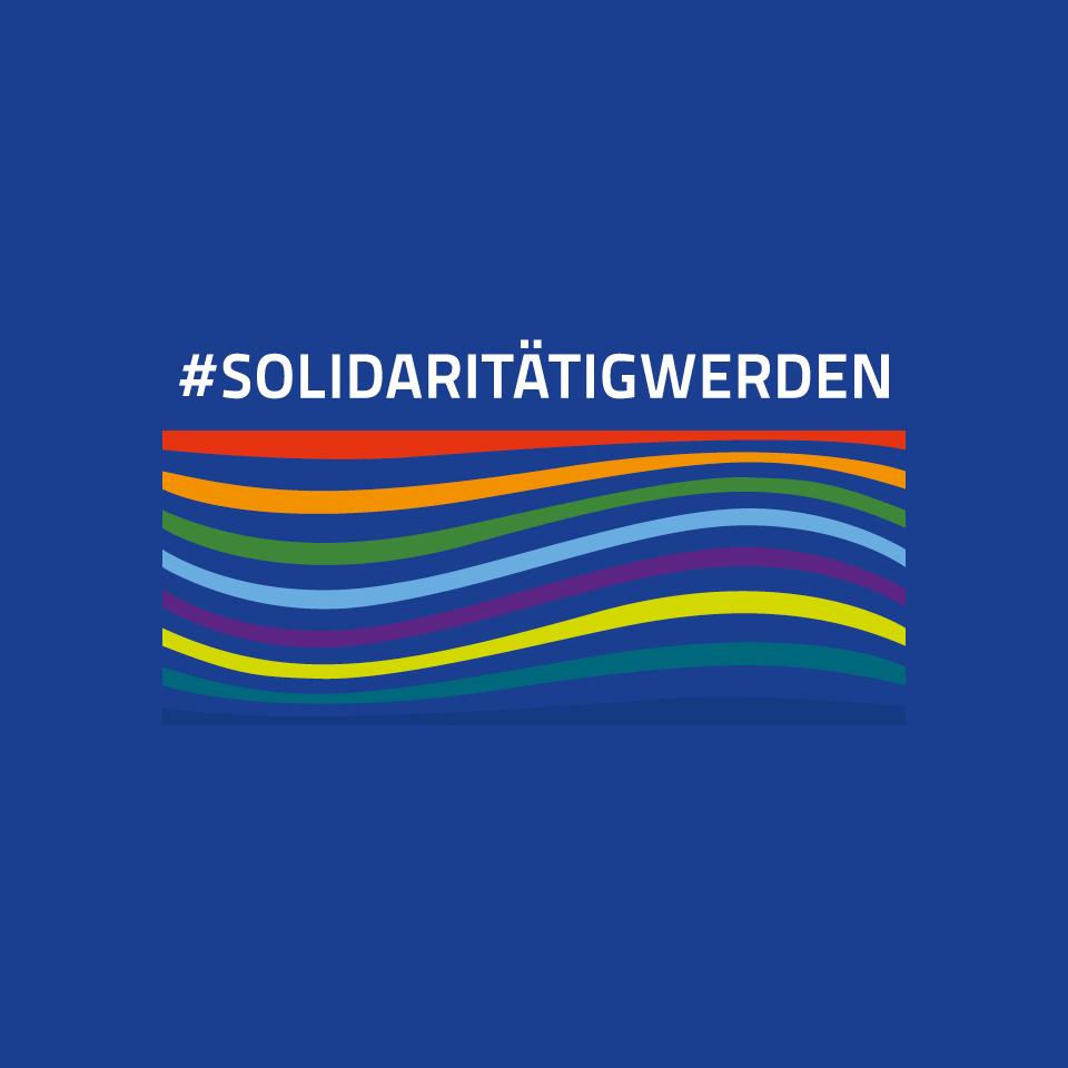 """Hier geht es zur Soli-Kampagnen-Seite """"Solidaritätig werden""""."""