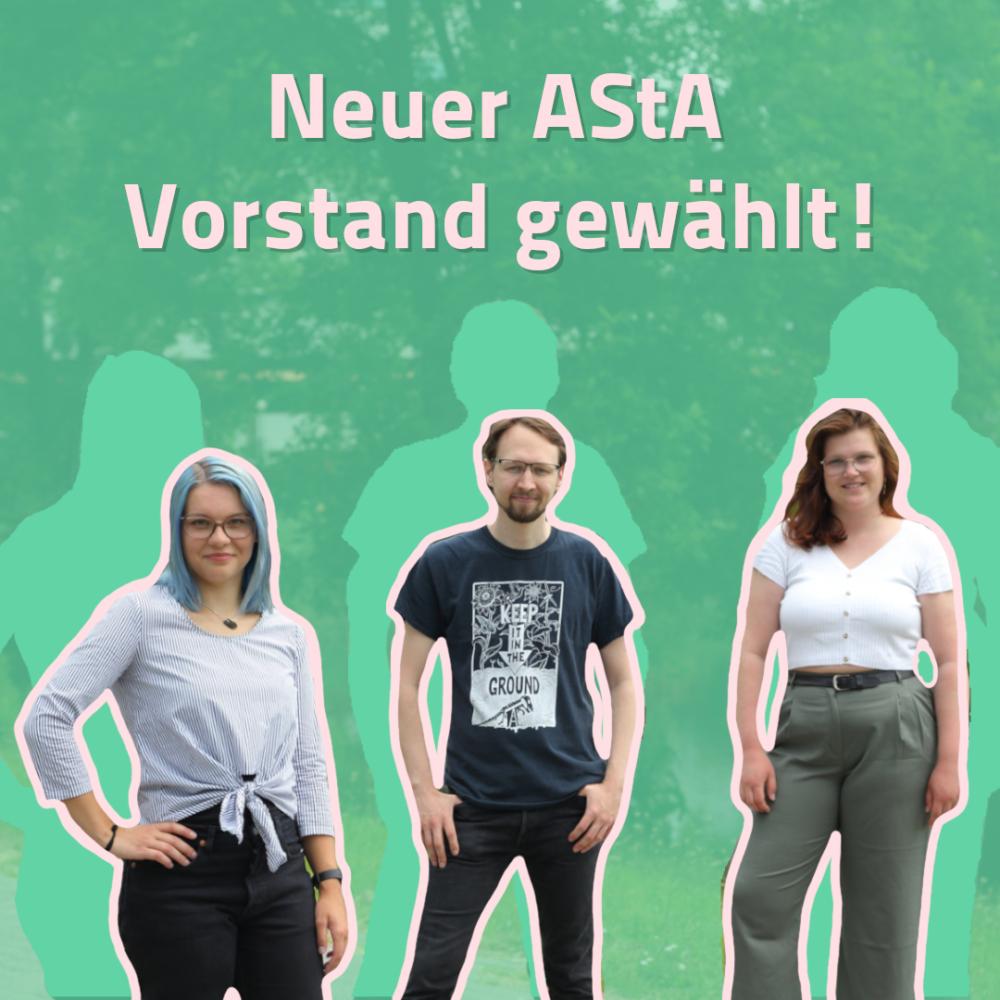 Neuer AStA Vorstand an der CAU